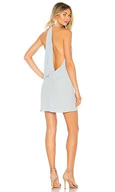 Купить Мини-платье с открытой спиной flora - NBD, Коктейльное, Китай, Нежно-голубой