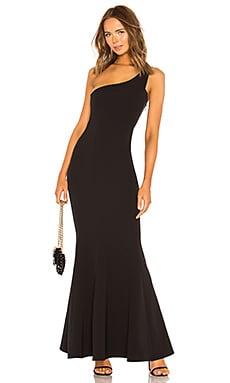Купить Вечернее платье с открытым плечом mei li - NBD, С одним плечом, Китай, Черный