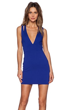 x REVOLVE Late Night Bodycon Dress in Royal Blue