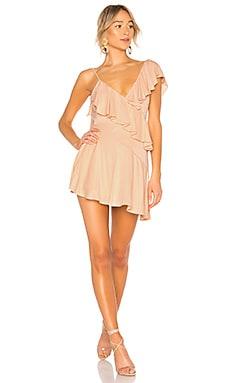 Twain Ruffle Mini Dress NBD $198