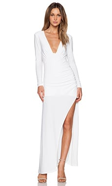 NBD Own The Night Maxi Dress in Ivory