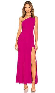 Купить Вечернее платье с открытым плечом perdita - NBD, С одним плечом, Китай, Фуксия