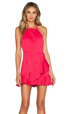 Born Yesterday Dress in Hot Pink