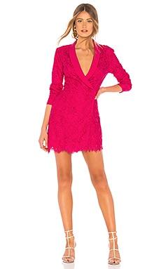 Фото - Вечернее мини-платье marco - NBD цвета фуксия
