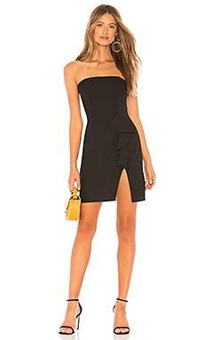 Купить Мини-платье без бретель sophie - NBD черного цвета