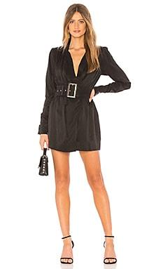 Купить Мини-платье с длинным рукавом shania - NBD, Длинные рукава, Китай, Черный