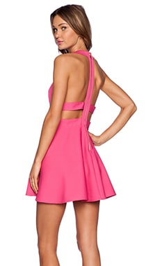 x Naven Twins Te Amo Fit & Flare Dress