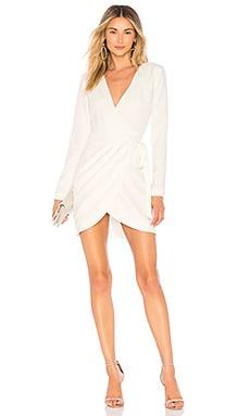 Купить Мини-платье с длинным рукавом lola - NBD, Китай, Белый