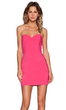 NBD x Naven Twins I Gotta Feeling Dress in Pink