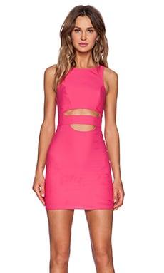 NBD x Naven Twins Royals Dress in Pink