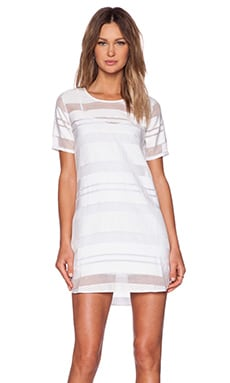 NBD I'm Good Tee Dress in Ivory