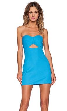 NBD x Naven Twins Rockstar Dress in Blue