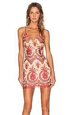 NBD Look Back At It Dress in Red