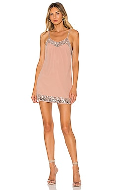 Janice Embellished Mini Dress NBD $228