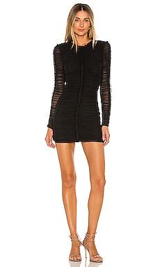 Las Olas Long Sleeve Mini Dress NBD $198