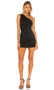 Mila Embellished Mini Dress NBD $198