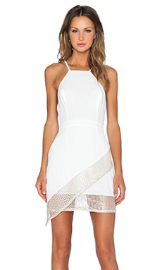 NBD Hot Commodity Dress in Ivory