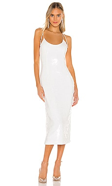 Desdemona Embellished Midi Dress NBD $258