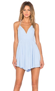 NBD x REVOLVE Get Out Dress in Pale Blue