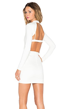 NBD x REVOLVE Hold It Dress in White