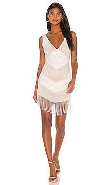 Larissa Embellished Mini Dress NBD $186