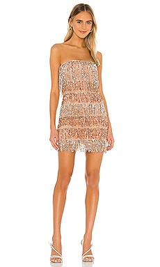 Codi Embellished Mini Dress NBD $185