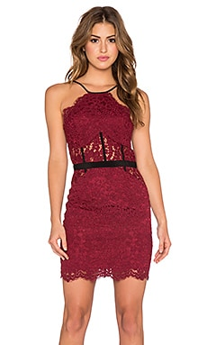 NBD x REVOLVE Lay It Down Dress in Dark Red