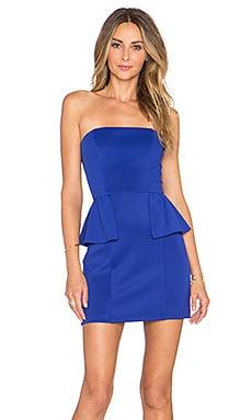 NBD x REVOLVE Dame Strapless Dress in Cobalt
