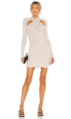 Crossover Mini Dress NBD $125