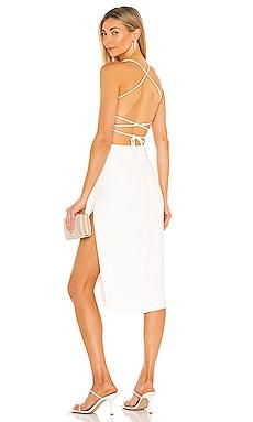 Becky Midi Dress NBD $178 NEW