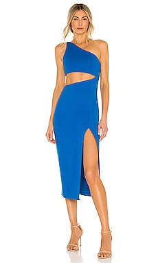 Kody Cutout Midi Dress NBD $188 NEW