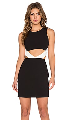 x Naven Twins Lifestyle Dress in Black