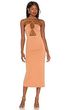 Iona Midi Dress NBD $218 NEW