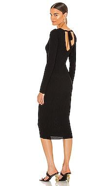 Bekah Deep V Midi Dress NBD $98