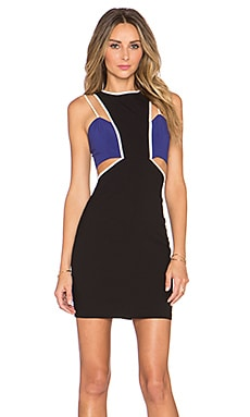 NBD x Naven Twins Expense Bodycon Dress in Black