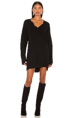 Evie Distressed Knit Mini Dress NBD $198