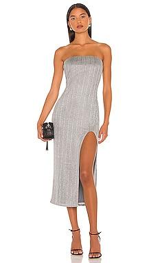 Joli Strapless Midi Dress NBD $210 NEW