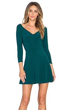 NBD x REVOLVE Cold Shoulder Dress in Teal