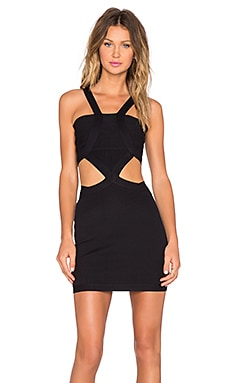 x REVOLVE My Confessions Bodycon Dress in Black