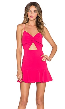 NBD Get Over It Dress in Magenta