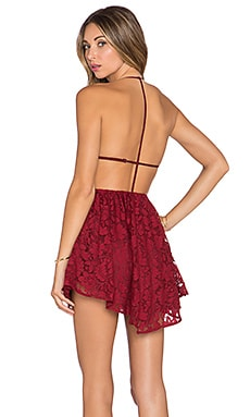 x REVOLVE Get Out Dress in Red