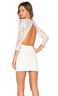 NBD x REVOLVE Lipstick Bodycon Dress in White