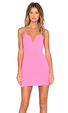 NBD x Naven Twins Not Your Babe Dress in Fuschia