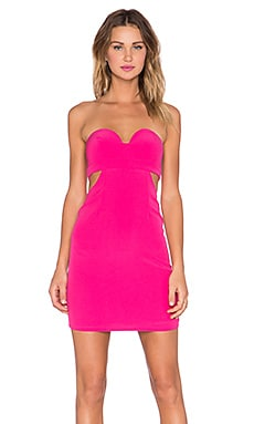 x REVOLVE Scoop Me Dress in Berry