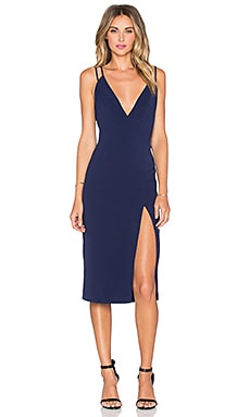 Shine On Dress in Navy