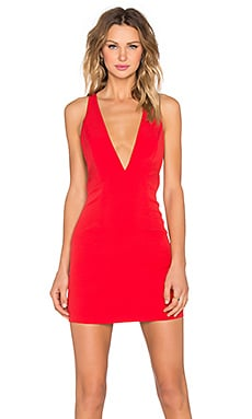 NBD Do Anything Dress in Red