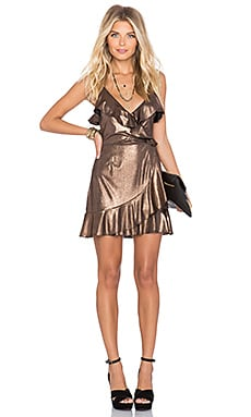 NBD SU2C x REVOLVE Dancin Queen Mini Dress in Copper
