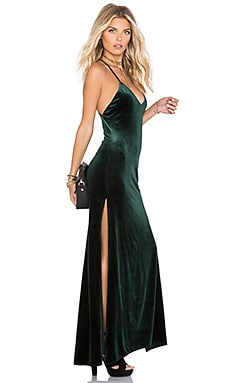NBD SU2C x REVOLVE In The Deep Maxi Dress in Hunter Green