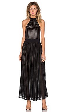 Regal Maxi Dress in Black