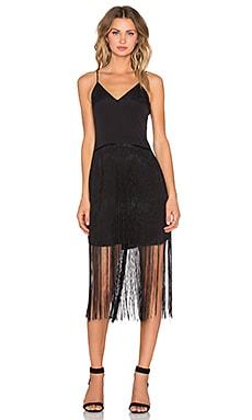 NBD Get Movin Midi Dress in Black